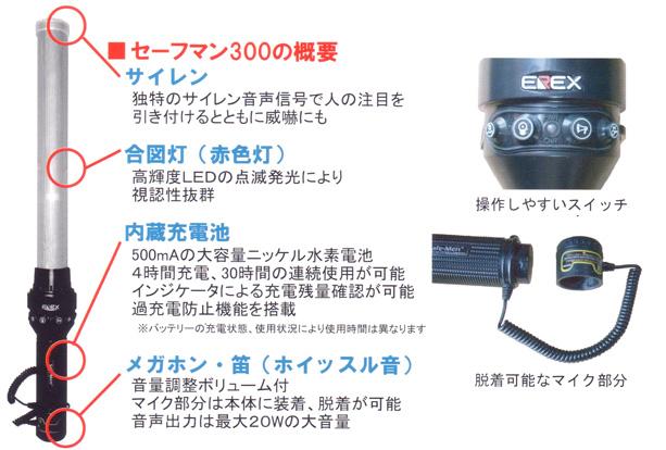 セーフマン 300(1本入りケース)